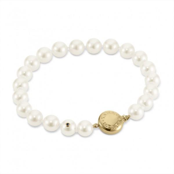 Armband aus Akoya Perlen AP18 mit Schließe aus Gold