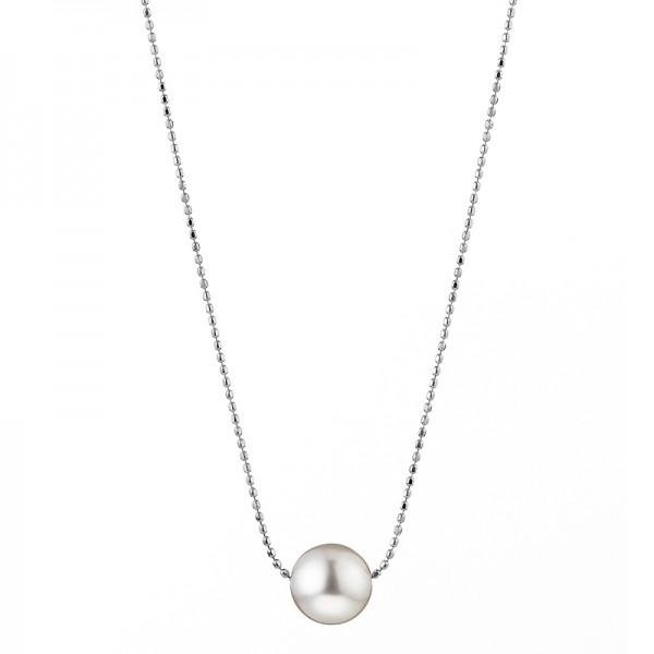 Perlenkette Akoya in Weißgold mit Slide-Verschluss BUBBLES